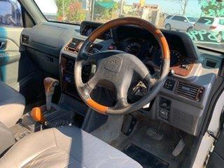 1999 Mitsubishi Pajero GLS White 4 Speed Auto Active Select Wagon