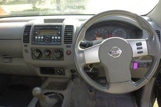 2010 Nissan Navara D40 ST-X King Cab Black 6 Speed Manual Utility