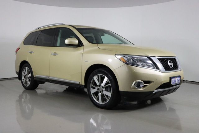 Used Nissan Pathfinder R52 TI (4x2) Bentley, 2015 Nissan Pathfinder R52 TI (4x2) Gold Continuous Variable Wagon