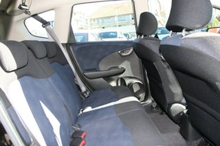 2012 Honda Jazz GE MY12 Vibe Black 5 Speed Manual Hatchback