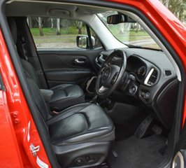 2015 Jeep Renegade BU MY15 Limited DDCT Red 6 Speed Sports Automatic Dual Clutch Hatchback