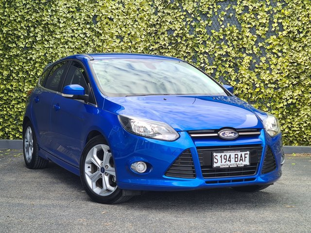 Used Ford Focus LW MkII Sport St Marys, 2013 Ford Focus LW MkII Sport Blue 5 Speed Manual Hatchback