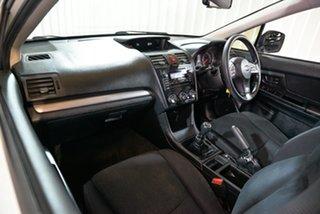 2014 Subaru Impreza G4 MY14 2.0i AWD White 6 Speed Manual Hatchback