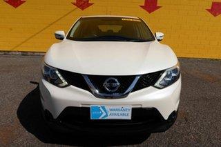 2016 Nissan Qashqai J11 ST Pearl White 6 Speed Constant Variable Wagon.