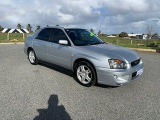 2003 Subaru Impreza MY03 RX (AWD) Silver 5 Speed Manual Sedan.