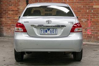 2011 Toyota Yaris NCP93R MY11 YRS Silver 4 Speed Automatic Sedan