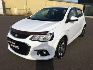 2017 Holden Barina TM LS White Automatic.