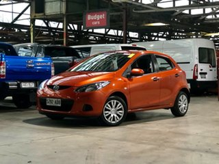 2009 Mazda 2 DE10Y1 Neo Orange 4 Speed Automatic Hatchback.