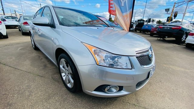 Used Holden Cruze JH Series II MY14 Equipe Maidstone, 2014 Holden Cruze JH Series II MY14 Equipe Silver 6 Speed Sports Automatic Hatchback