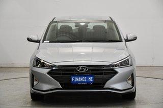 2020 Hyundai Elantra AD.2 MY20 Active Typhoon Silver 6 Speed Sports Automatic Sedan.