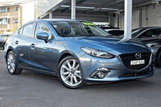 2015 Mazda 3 BM5238 SP25 SKYACTIV-Drive GT Blue 6 Speed Sports Automatic Sedan.