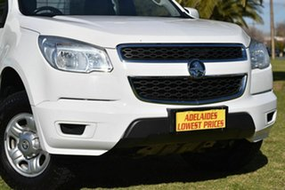 2015 Holden Colorado RG MY15 LS Space Cab White 6 Speed Sports Automatic Cab Chassis