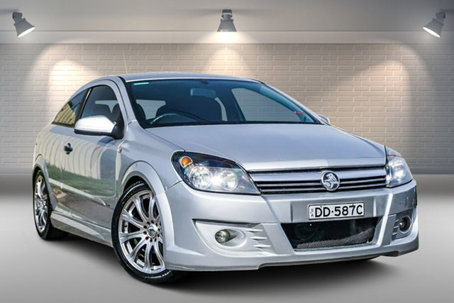 Used Holden Astra AH MY06 CD Gepps Cross, 2005 Holden Astra AH MY06 CD Silver 4 Speed Automatic Coupe