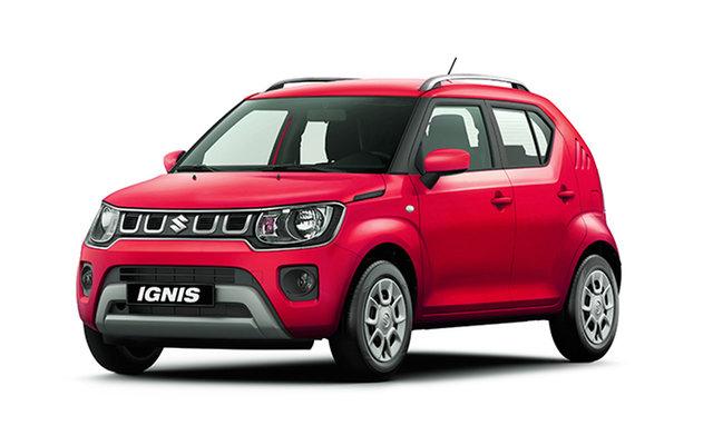 New Suzuki Ignis MF Series II GL Hamilton, 2021 Suzuki Ignis MF Series II GL Fervent Red 1 Speed Constant Variable Hatchback