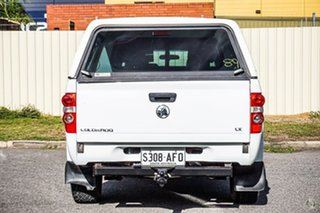 2010 Holden Colorado RC MY10.5 LX Crew Cab White 5 Speed Manual Cab Chassis