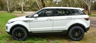 2015 Land Rover Range Rover Evoque L538 MY16 TD4 150 SE White 9 Speed Sports Automatic Wagon