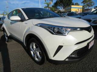 2018 Toyota C-HR NGX10R S-CVT 2WD White 7 Speed Constant Variable Wagon.