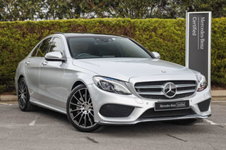 2015 Mercedes-Benz C-Class W205 806MY C250 7G-Tronic + Iridium Silver 7 Speed Sports Automatic Sedan.