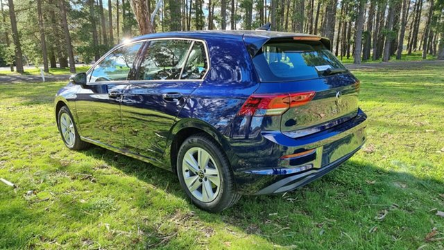 Demo Volkswagen Golf 8 MY21 110TSI Tanunda, 2021 Volkswagen Golf 8 MY21 110TSI Atlantic Blue 8 Speed Sports Automatic Hatchback