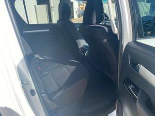 2017 Toyota Hilux GUN126R MY17 SR5 (4x4) Glacier White 6 Speed Manual Dual Cab Utility