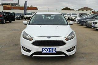 2016 Ford Focus LZ Titanium White 6 Speed Automatic Hatchback