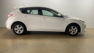 2013 Mazda 3 BL Series 2 MY13 Neo White 6 Speed Manual Hatchback.