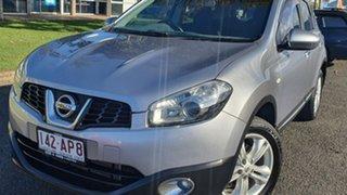 2013 Nissan Dualis J10W Series 4 MY13 TS Hatch 2WD Silver 6 Speed Manual Hatchback.