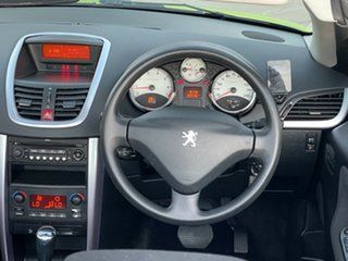 2007 Peugeot 207 A7 CC Green 4 Speed Sports Automatic Cabriolet.