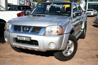 2013 Nissan Navara D22 Series 5 ST-R (4x4) Silver 5 Speed Manual Dual Cab Pick-up.