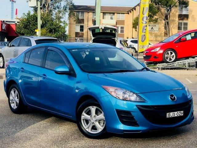 Used Mazda 3 BL10F1 Maxx Activematic Liverpool, 2009 Mazda 3 BL10F1 Maxx Activematic Blue 5 Speed Sports Automatic Sedan