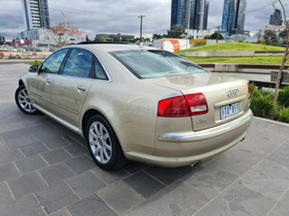 2005 Audi A8 D3 MY2006 L Quattro Gold 6 Speed Sports Automatic Sedan.