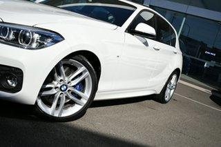 2018 BMW 125i F20 LCI MY18 M Sport Alpine White 8 Speed Automatic Hatchback.