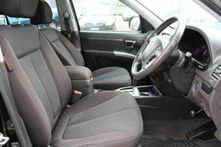 2011 Hyundai Santa Fe CM MY11 Elite Black 6 Speed Sports Automatic Wagon