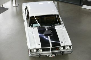 1971 Ford Falcon XY GT White 3 Speed Automatic Sedan