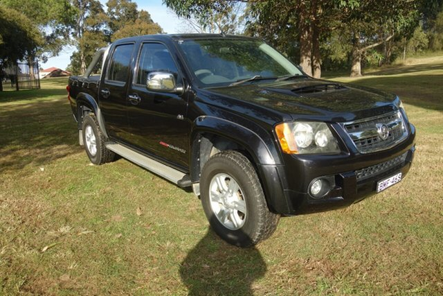 Used Holden Colorado RC MY09 LT-R Crew Cab East Maitland, 2009 Holden Colorado RC MY09 LT-R Crew Cab Black 5 Speed Manual Utility