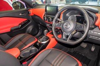 2021 Nissan Juke F16 Ti DCT 2WD Energy Orange Ivory Pearl 7 Speed Sports Automatic Dual Clutch