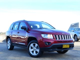 2012 Jeep Compass MK MY12 Sport Red 5 Speed Manual Wagon.