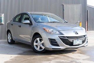 2010 Mazda 3 BL10F1 MY10 Neo Activematic Silver 5 Speed Sports Automatic Sedan.