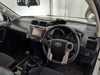 2015 Toyota Landcruiser Prado GDJ150R GXL White 6 Speed Manual Wagon