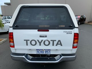 2008 Toyota Hilux KUN26R MY08 SR5 Xtra Cab White 5 Speed Manual Utility.