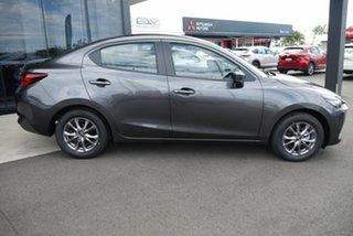 2021 Mazda 2 DL2SAA G15 SKYACTIV-Drive Pure Grey 6 Speed Sports Automatic Sedan.
