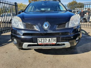 2011 Renault Koleos H45 MY10 Expression White 1 Speed Constant Variable Wagon.