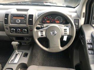 2015 Nissan Navara D40 S9 Silverline SE Black 5 Speed Automatic Utility