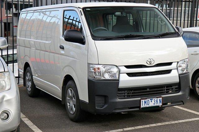 Pre-Owned Toyota HiAce KDH201R LWB Preston, 2018 Toyota HiAce KDH201R LWB White 4 Speed Automatic Van