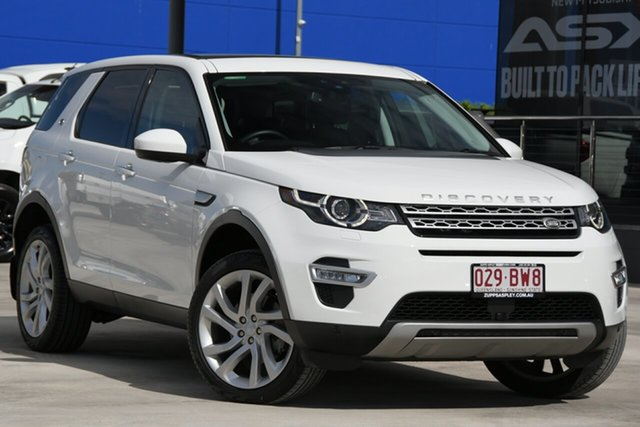 Used Land Rover Discovery Sport L550 18MY SD4 HSE Luxury Aspley, 2017 Land Rover Discovery Sport L550 18MY SD4 HSE Luxury White 9 Speed Sports Automatic Wagon