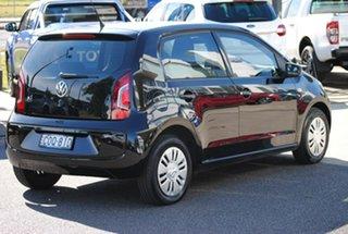 2013 Volkswagen UP! Type AA MY13 Black 5 Speed Manual Hatchback.
