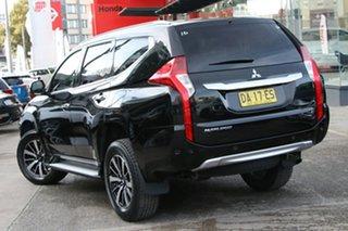 2016 Mitsubishi Pajero Sport QE MY17 Exceed Black 8 Speed Sports Automatic Wagon.