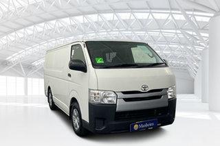 2014 Toyota HiAce KDH201R MY14 LWB French Vanilla 4 Speed Automatic Van.