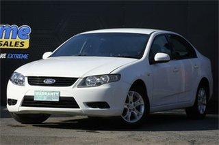 2010 Ford Falcon FG XT White 5 Speed Sports Automatic Sedan.