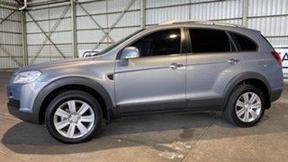 2009 Holden Captiva CG MY10 LX AWD Grey 5 Speed Sports Automatic Wagon.